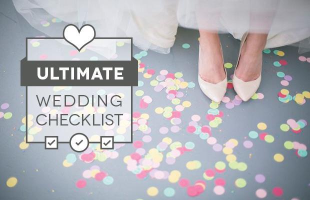 wedding day check list